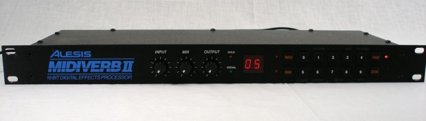 Alesis Midiverb II – 16 bit Digital Effects Processor